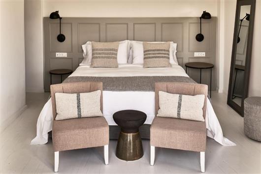 Aegean Suite, 1 Bedroom Suite, 1 King, Inland view, Balcony