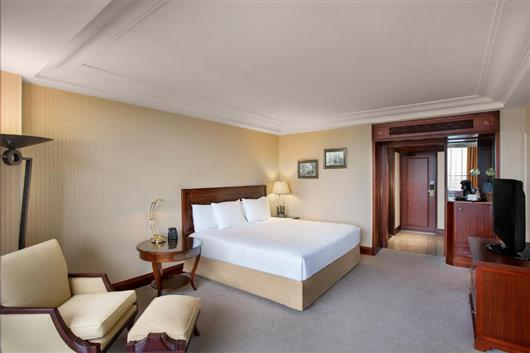 Executive King Room with Bosphorus View and Executive Lounge Access