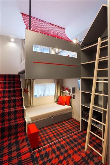 Quadruple Room with Mezzanine