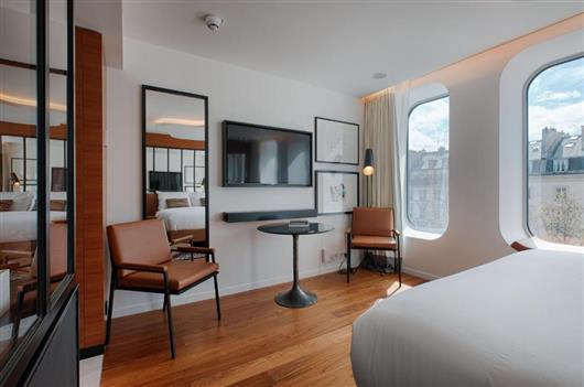 Paris Style Queen Room
