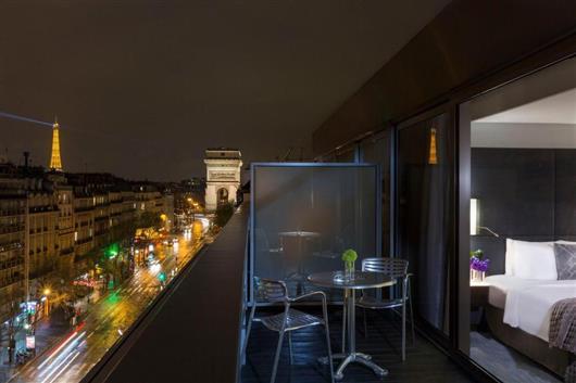 Paris Sky View Terrace Room