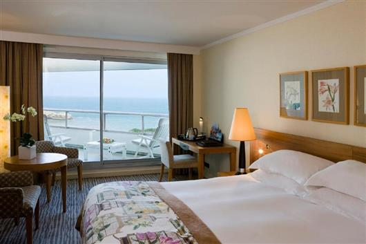 Deluxe Double Room with Sea View and Wellness Centre Access