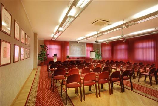 Burgundy Conference Room