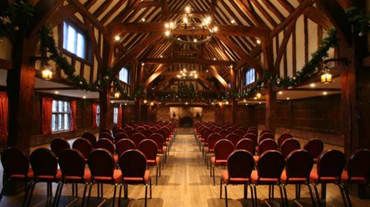 The Tithe Barn & Painted Hall