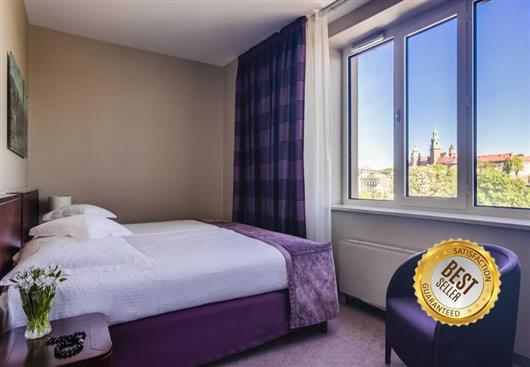 Superior room with a view to the castle