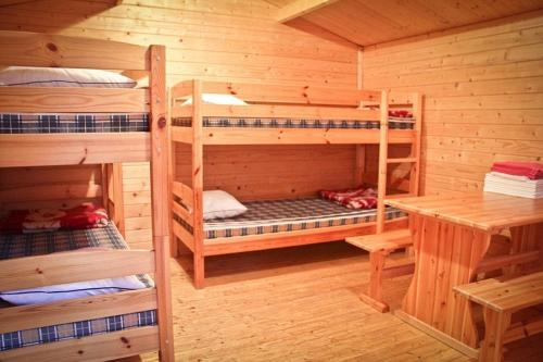 Cottage with bunk beds