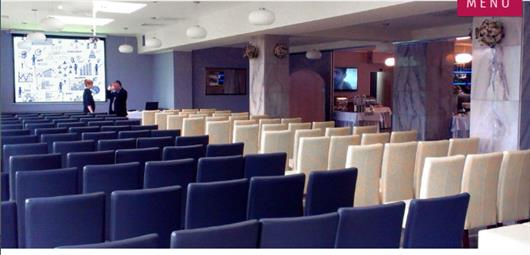 Silver conference room