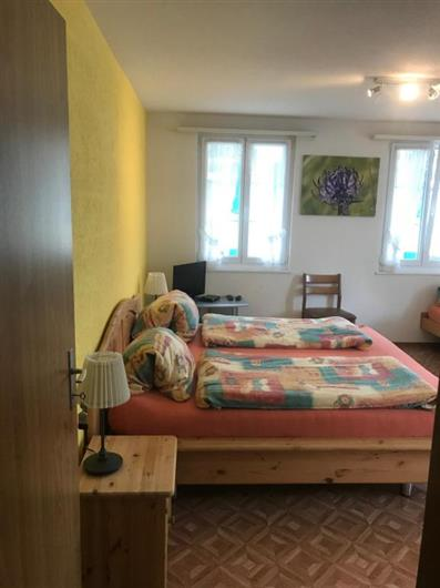 Economy Quadruple Room with Shared Bathroom and  with Garden view