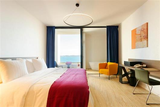 Standard Double Room with Balcony and Sea View - New Year's Package