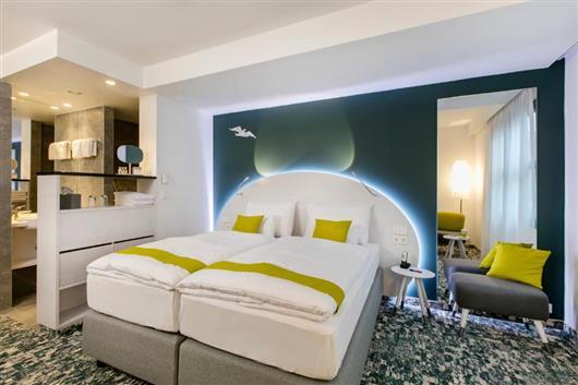Comfort Double Room with Open-Plan Bathroom