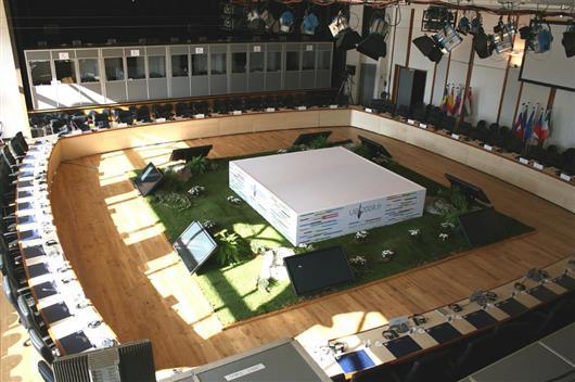 Salle Europe + Rotonde
