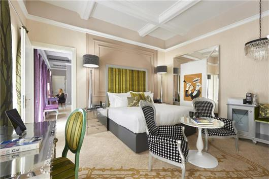 Luxury King Room with Music Garden View