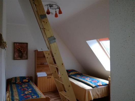 Family Room with children under the Attic