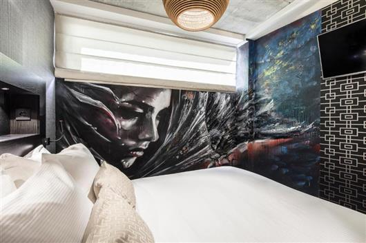 Amsterdam Street Art Guest Room