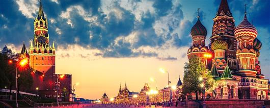 The Two Capitals of Russia (Moscow – St. Petersburg)