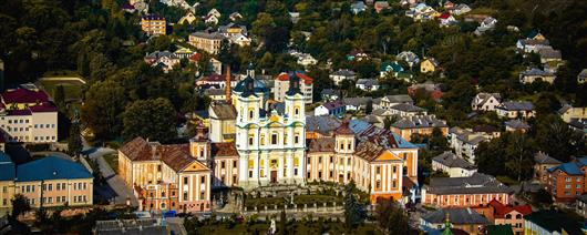 Castles of Ternopil region and Fine city