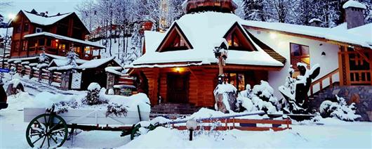 Magic winter in the Carpathians