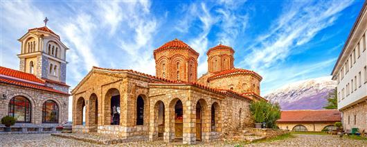 Ohrid with St. Naum from Skopje