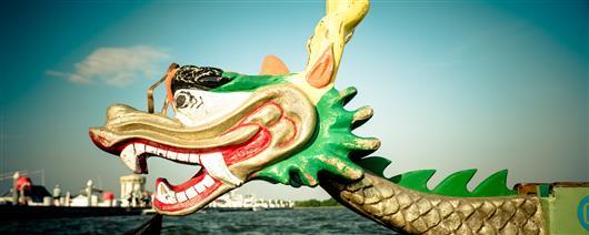 Tame the dragon - swim on dragon boats