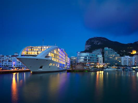First World Five-star super-yacht hotel's opened
