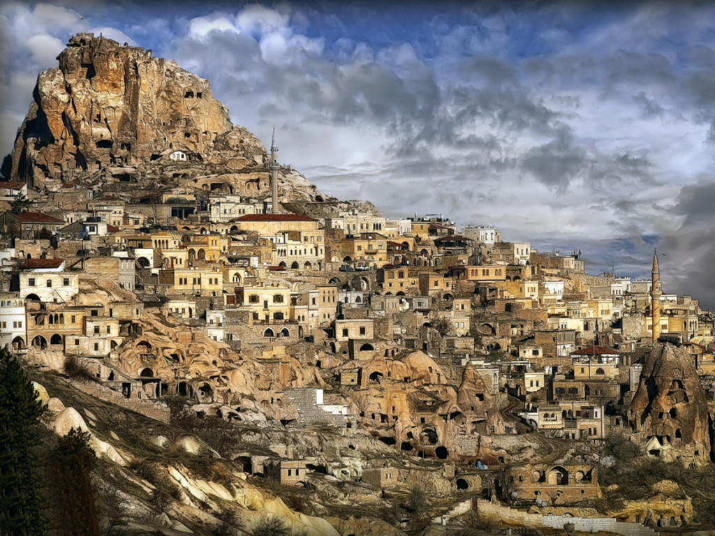 Want to live in a cave? Welcome to Cappadocia!