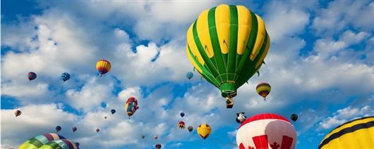 Balloon Festival in Skhidnytsia