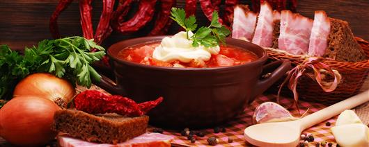 Gourmet tour to Ukraine