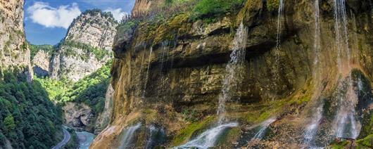 Велотур Безенги-Чегемские водопады