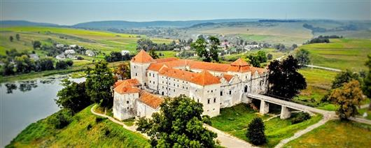 4 best castles near Lviv tour