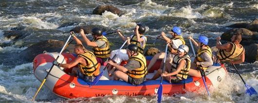 Migiya rapids: 2 days