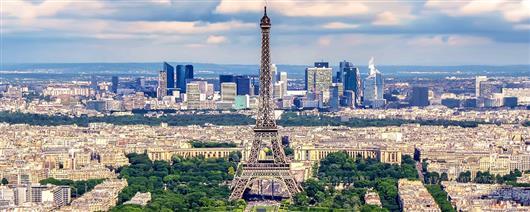 Paris and sunny Nice