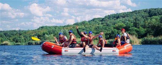 Rafting weekend in Migiya