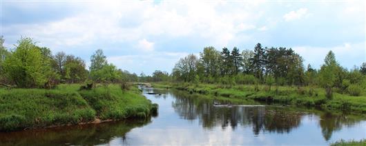 "Rafting on the Ubort River - ""Ukrainian Karelia"""
