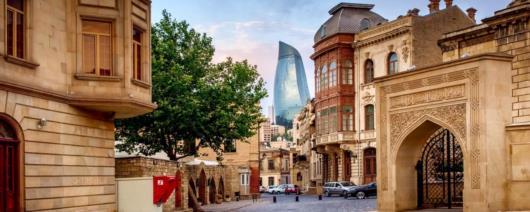 The ancient and modern landmarks of Azerbaijan