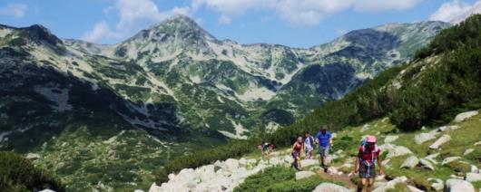 Hiking trek in the Pirin & Rila mountains